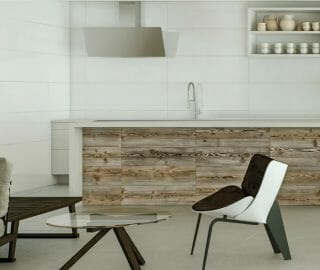 """Pure white, ceramic wall tile in 12""""x36"""" large rectangular size. This tile is not shiny."""