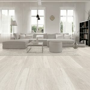 Light Wood Tile Kenia White. Rectified porcelain, floor and wall tile. Made in Spain.