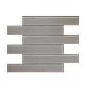 Grey Glass Subway Tile