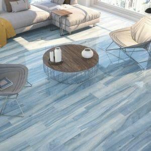 Wood Look Tile Kera Blue