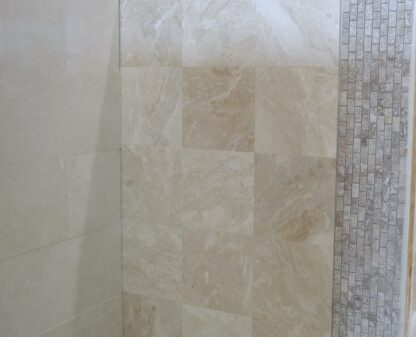 Diana Royal Polished Marble From Turkey is a light beige color marble with a beautiful light and dark being colors movements in it. We stock this marble in our warehouse to offer the best prices in our tile store in Pompano Beach