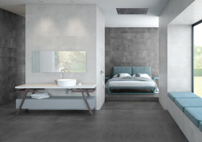Soft Grey Color Wall Tile Trapani Pearl
