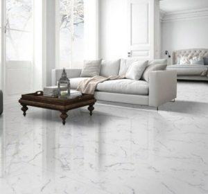 Statuario White Porcelain Tile