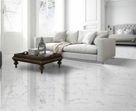 Statuario White Porcelain Tile