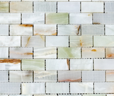 Green Only Mosaic Tile