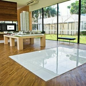 Flooring Store Fort Lauderdale Crystal Glass Pure White Tile