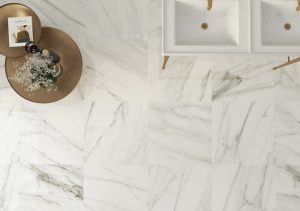 24x24 White Porcelain Tile