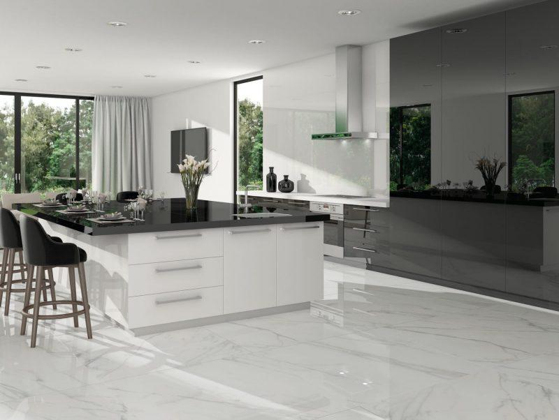 Baranello White Porcelain Tile 30x30