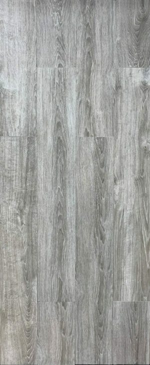 Porcelain wood in grey color with white grains