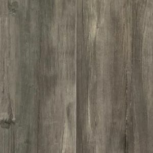 8x48 Amazon Series Porcelain Tile That Looks Like Wood With Rectified Edges In Dark Grey Color