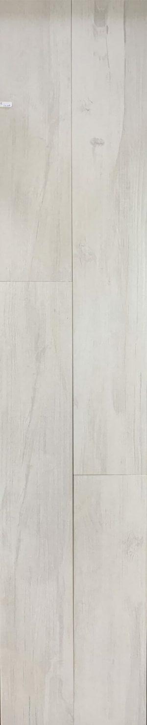 8x48 Amazon White Porcelain Wood Tile in Whitewash Style