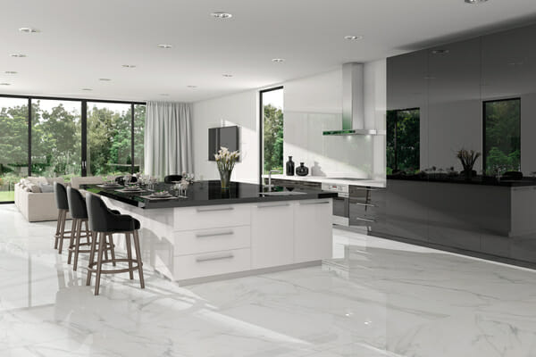 White Marble Porcelain Tiles at Tiles & Stone Warehouse