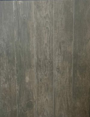 Wood look porcelain tile grove shadow is a porcelain tile with dark hardwood floor effect. Made in Spain.