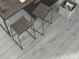 Spanish Porcelain tile that looks like wood in grayish colors