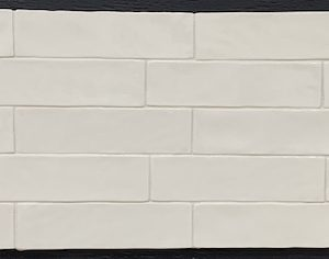 Allegro White Maiolica Subway Tile For Kitchen Backsplash and Bathroom Walls