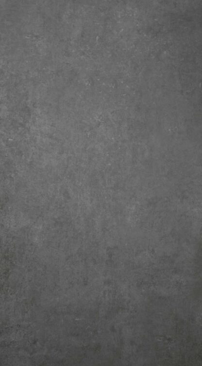 large product image studio ash porcelain tile that looks like dark grey industrial concrete floors