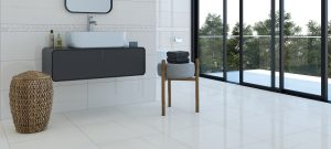 white wall tile with vertical veins