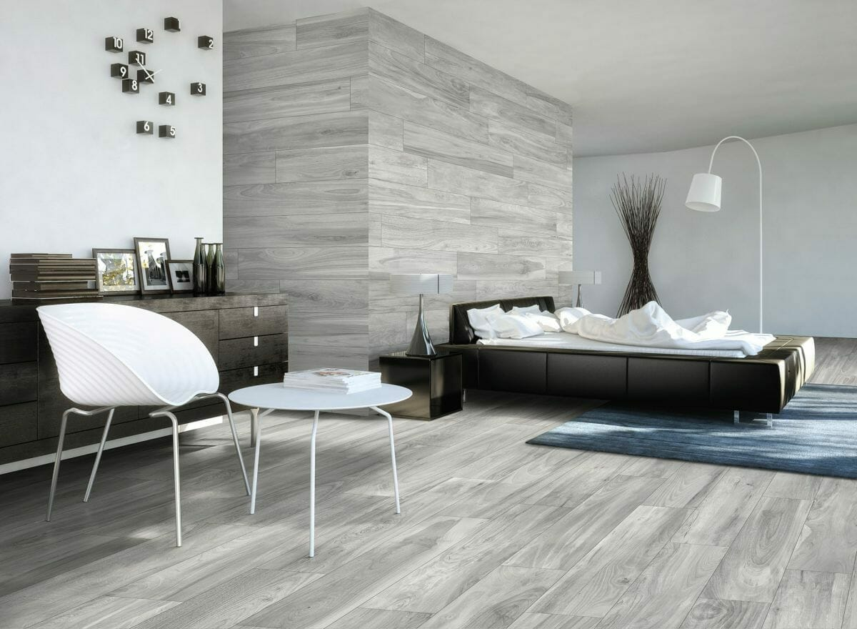 Bellver Grey Wood Look Porcelain Tile