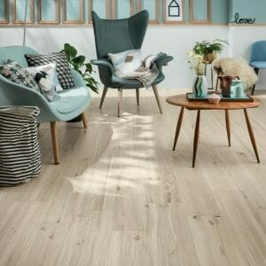 Mirage Koru Apple Tile is a porcelain tile that looks like wood with extremely high resolution graphics that shows every detail