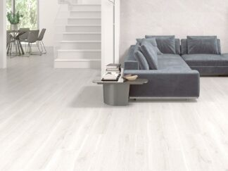 "10""x60"" white porcelain floor tile that comes with the look in white colo"