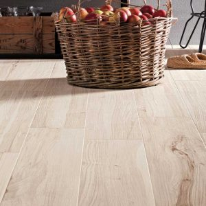 Koru Apple is a porcelain tile that looks like wood with extremely high resolution graphics that shows every detail from Italy's best tile maker Mirage