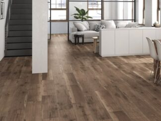 8x48 porcelain wood looking tile from Spain with a design that blends the natural with the modern