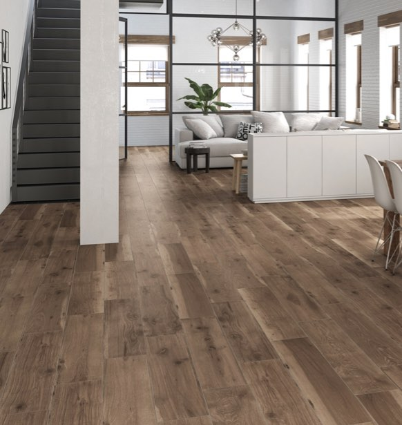 Selandia Ebano Wood Look Porcelain Tile 8x48