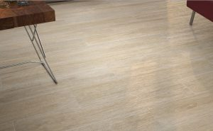Timber floor tile Canada Teak is a porcelain floor tile made in Spain. It comes in light beige color with some grey wood grains