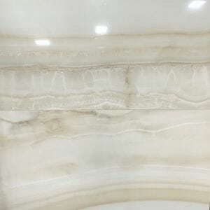 high-end polished porcelain tile with the look of semi-precious stone