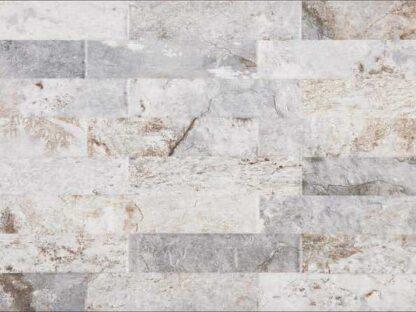 grey porcelain tile that looks like ledger panel