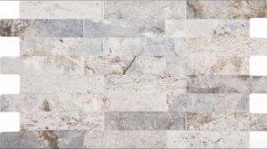 grey porcelain tile that looks like ledger panel full size picture