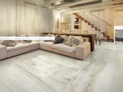 24x48 high-end porcelain tile that looks like upscale Onyx Flooring