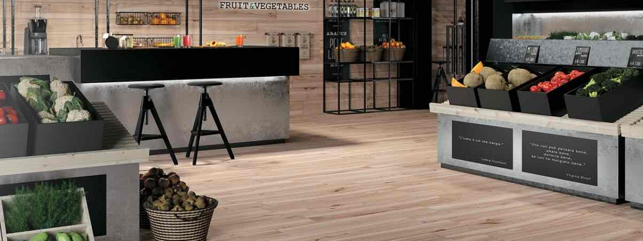Most detailed Italian porcelain tile with the wood look Mirage Koru