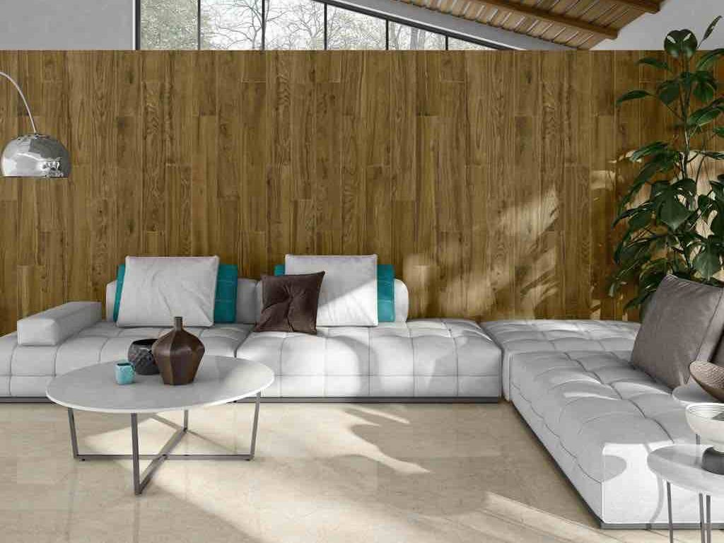 Loire Coffee Wood Look Porcelain Tile 8×48