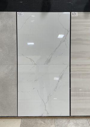 32x32 white porcelain floor tile