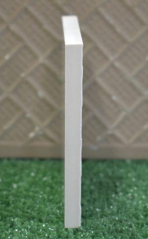 Technical Porcelain Tile Mega White's color is consistent throughout its mass