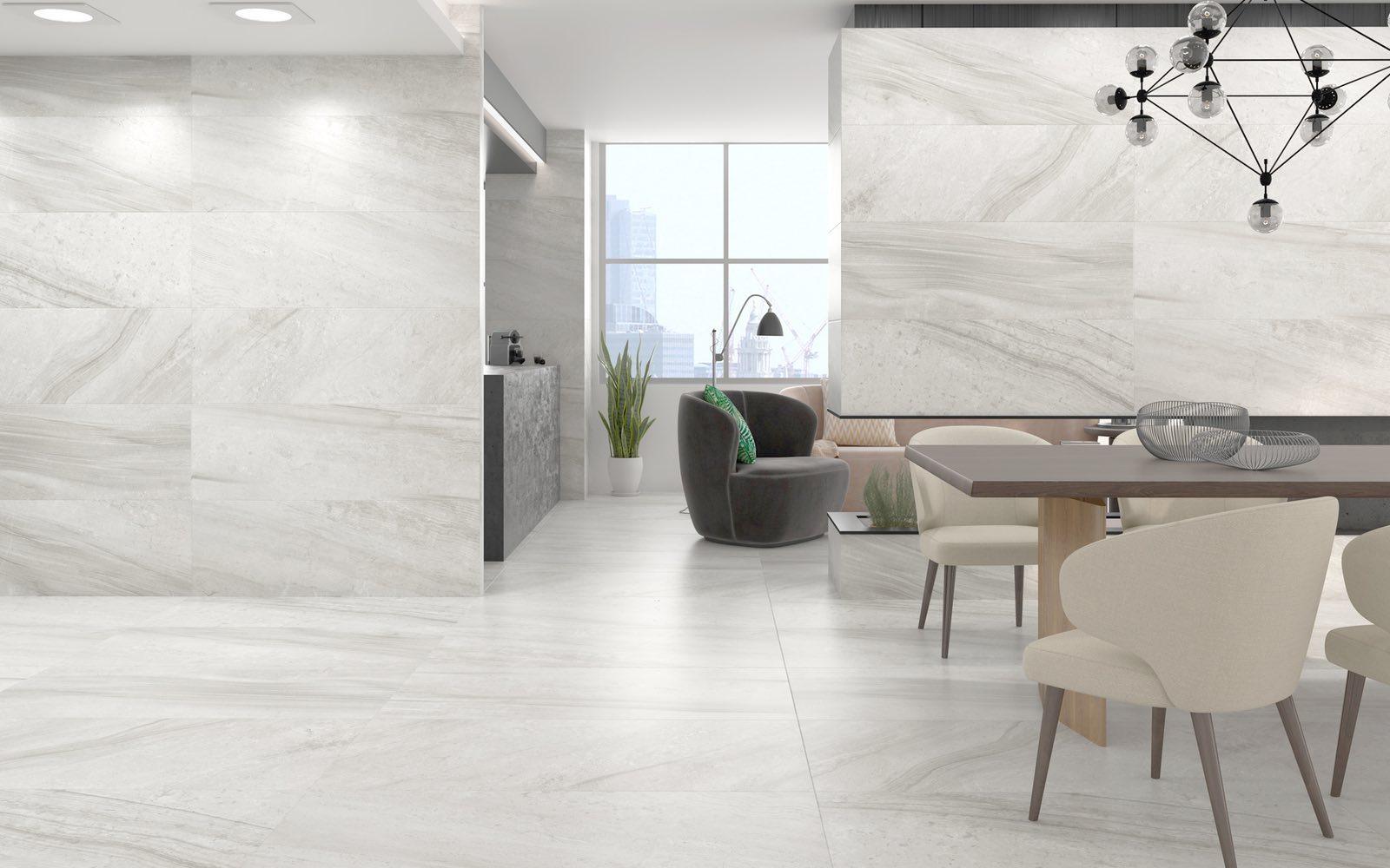 Lithium Pearl Matte Porcelain Tile