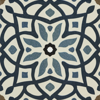 Moroccan Tile Blue Face 7