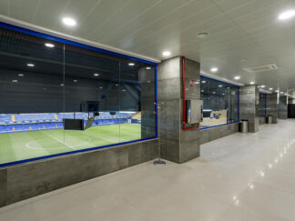 porcelain-tile-with-concrete-look-on-soccer-stadium