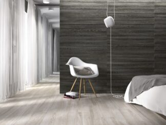 large porcelain tile with the look of wood