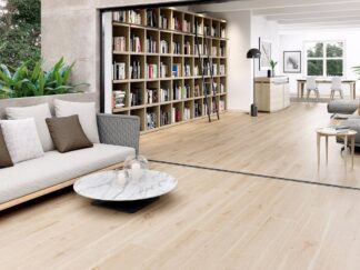 "10""x60"" porcelain floor tile that looks like hardwood floors in beige color"