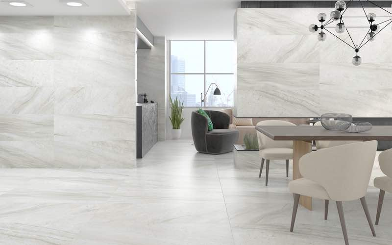 Resized picture of Lithium Pearl Marble Look Tile for Front page