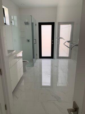 White tile baranello in bathroom 3
