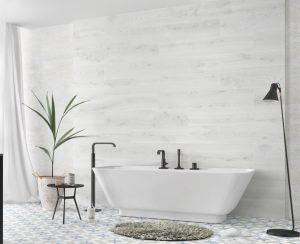 porcelain tile that looks like white wood