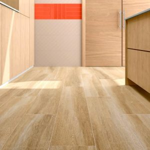 floor picture of Mediterranean Oak Style large wood tile 10x60