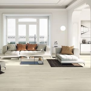 light maple style wood look style tile floor with large format
