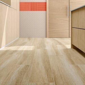 Mediterranean Oak Style large wood tile 10x60