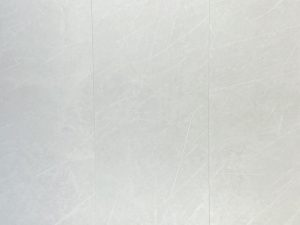 large format porcelain tile in light gray color with the look of the limestone